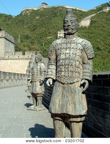 soldiers on great walll