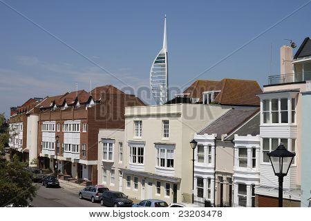 Old Portsmouth & Spinnaker Tower