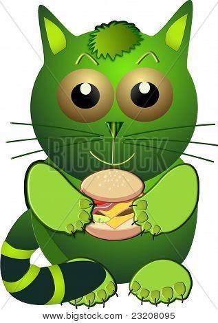 Hamburger Cat