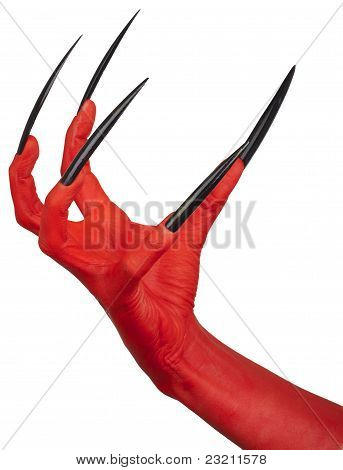 The evil red claw.