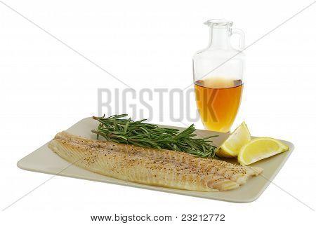 Seasoned Fish  Fillet With Healthy Ingredients
