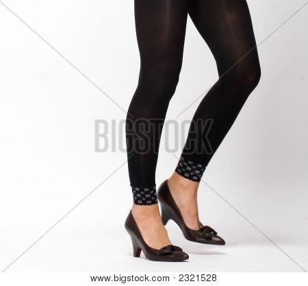 Legs In Black