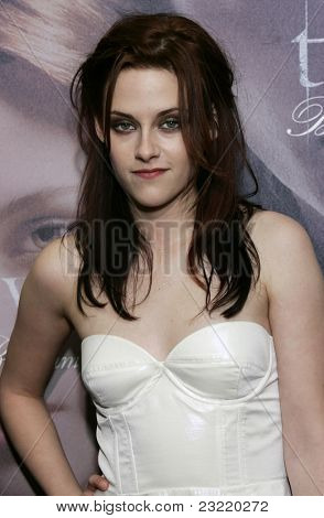 MUNICH, GERMANY - DEC 6: Kristen Stewart at the Twilight - fan event and autographing session on December 6, 2008 in Munich, Germany