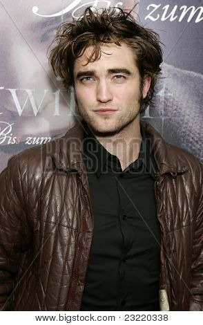 MUNICH, GERMANY - DEC 6: Robert Pattinson at the Twilight - fan event and autographing session on December 6, 2008 in Munich, Germany