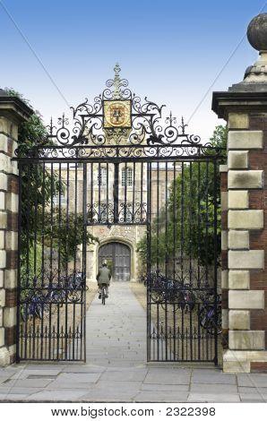 University Of Cambridge, Jesus College Entrance