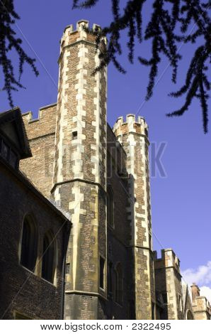 University Of Cambridge, Queen'S College Facade