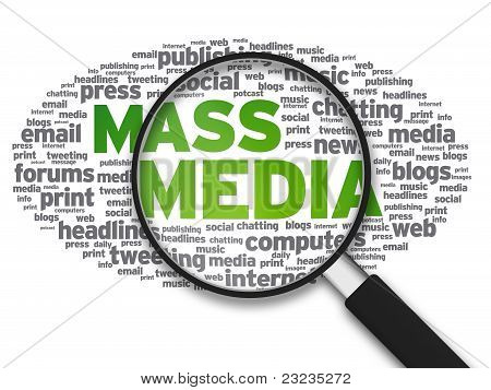 Magnifying Glass - Mass Media