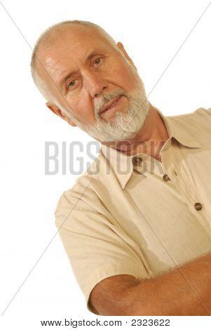 Candid Senior Portrait