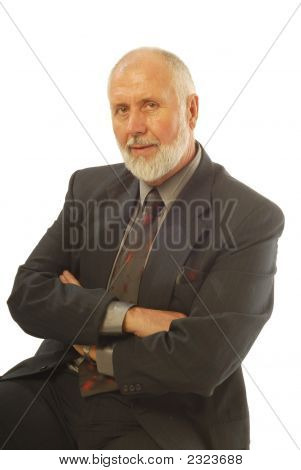 Attractive Older Businessman