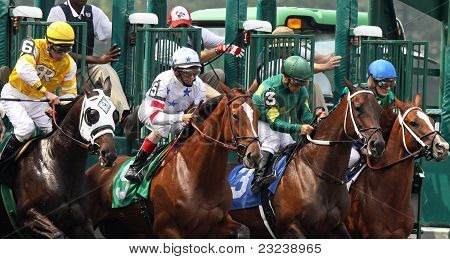 Allowance Race Gate Break