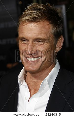 LOS ANGELES - NOV 22: Dolph Lundgren at the Premiere of 'Faster' held at Grauman's Chinese Theater in Los Angeles, California on November 22, 2010