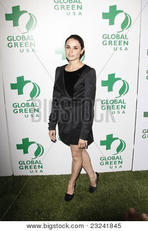 LOS ANGELES - MAR 3: Mia Maestro at the Global Green USA 7th Annual Pre-Oscar Party 'Greener Cities for a cooler Planet at Avalon in Los Angeles, California on March 3, 2010