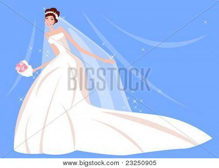 Schönheit-Braut