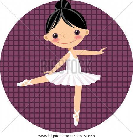 cute ballet dancer,girl