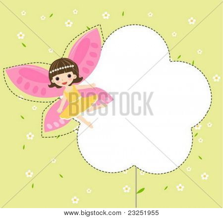 cute flower fairy