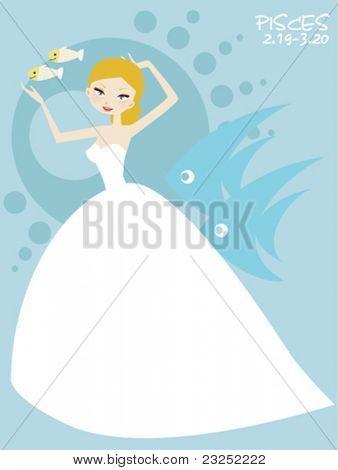 pisces bride