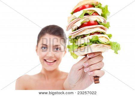 Super Huge Burger