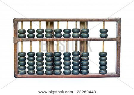Old Wooden Abacus