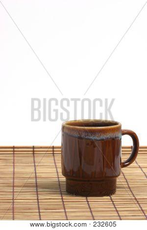 Brown Coffee Cup Vertical