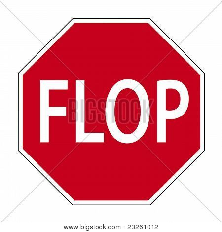Fun sign FLOP