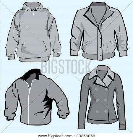 Jacket,hoodie,coats Or Sweatshirt Template