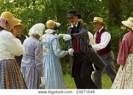 Historical Actors Dancing