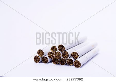 Close Up Of A Smoking