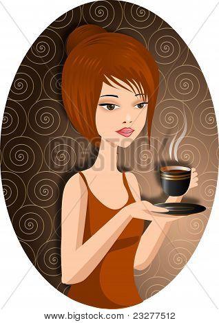 café caliente.