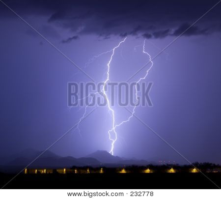 Dove Mountain Lightning