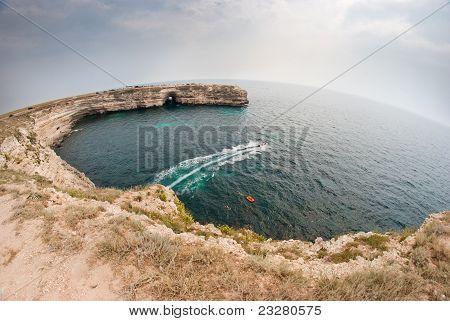 Coast Of Peninsula Tarhankut