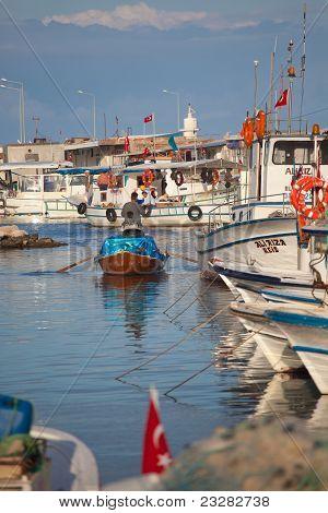 Fisherman At Yumurtalik