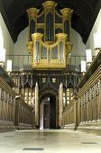 University Of Cambridge, St Mary Magdalene College Chapel Organ poster