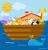 stock photo of noah  - Noahs Ark - JPG