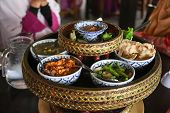 Asian Dish Made Of Rice And Mixed Variety Of Vegetables, Tofu, Tempeh, Fritters And Sauces, Asian In poster