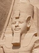 pic of aswan dam  - The temples of Abu Simbel are one of the most visited tourist attractions in Egypt - JPG