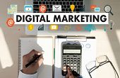 Businessman Digital Marketing New Startup Project  Technology Graphic poster