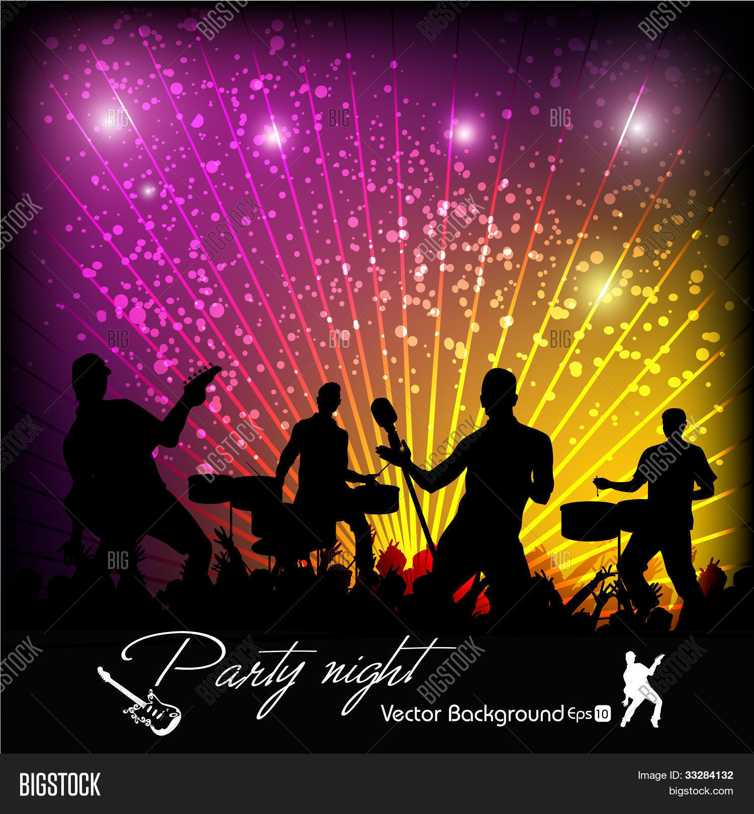 Vector Music Event Abstract amp Photo Bigstock