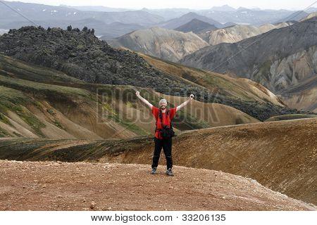 Male Traveller
