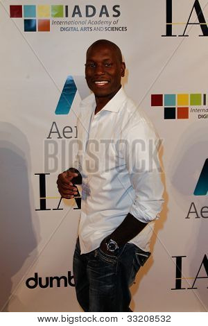 NEW YORK-MAY 17: Actor Tyrese Gibson attends the IAC And Aereo Official Internet Week New York HQ Closing Party at IAC HQ on May 17, 2012 in New York City.