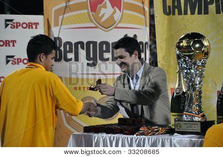 Soccer player Rafael Bastos
