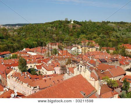 Three Crosses Hill In The Vilnius City