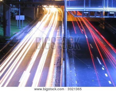 Highway At Nigh