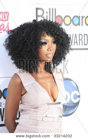 LAS VEGAS - MAY 20: Brandy Norwood at the 2012 Billboard Music Awards held at the MGM Grand Garden Arena on May 20, 2012 in Las Vegas, Nevada