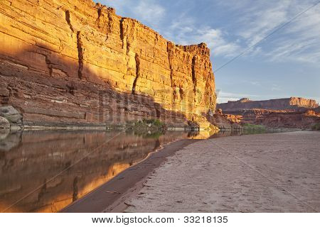 Colorado River In Canyonlands