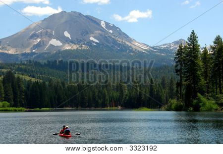 Lake Manzanita Canoe Ride