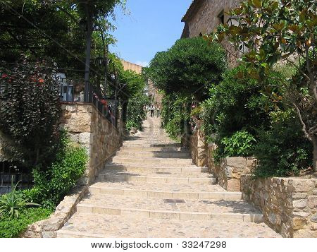 Way of stairs