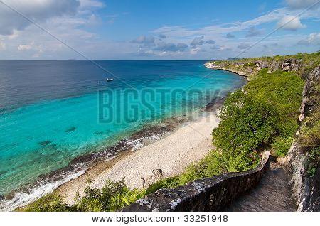 A landmark location on Bonaire, Caribbean.