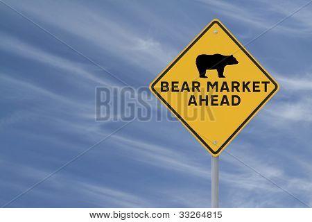 Mercado bajista por delante