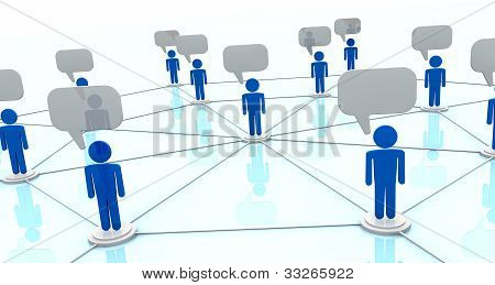 Concept Of Online Communication