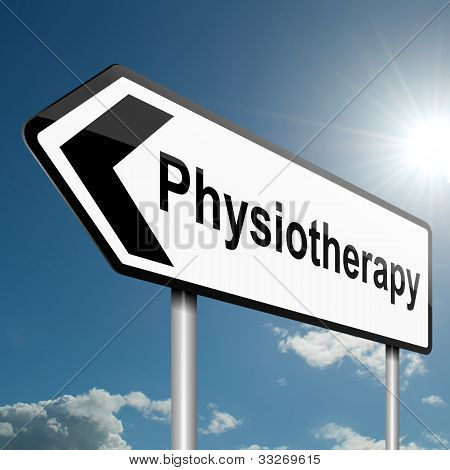 Physiotherapy Concept.